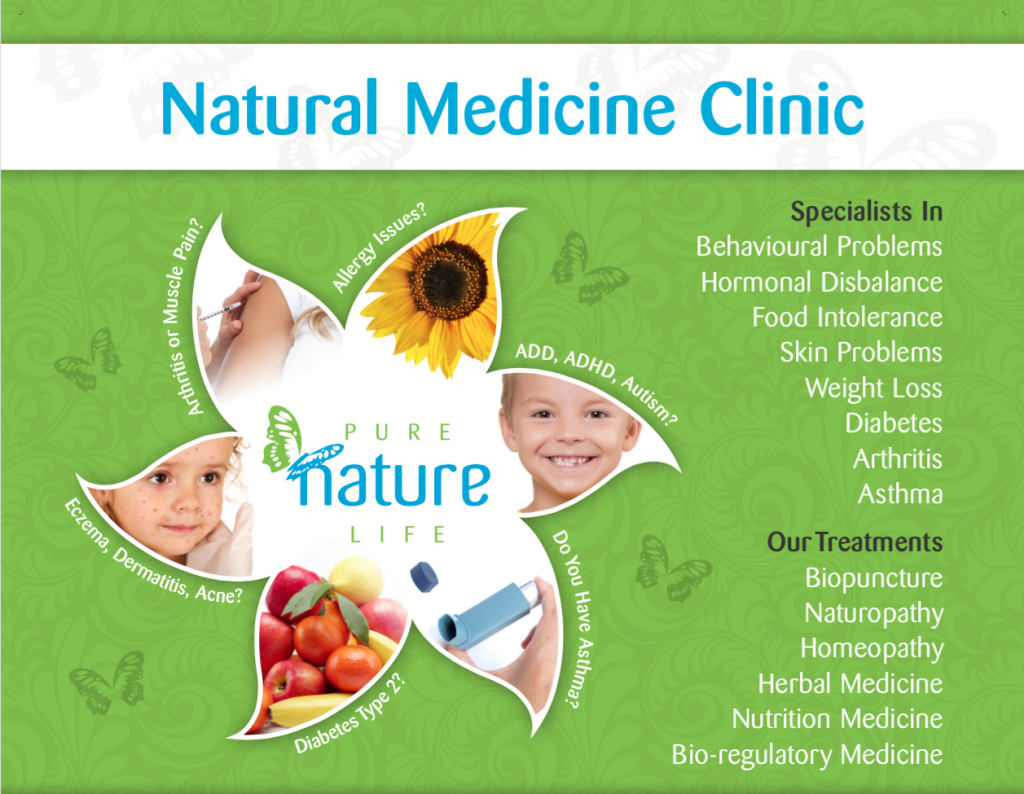 Pure Nature Life - Multi Modality Natural Medicine Clinic - Central Coast