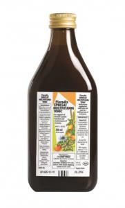 Flora, Floradix, Epresat Multivitamin, Liquid Extract Formula,