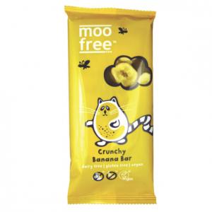 Moo Free Dairy Free Organic Banana Chip Chocolate 100g
