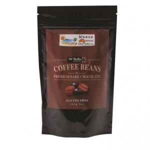 Noosa Natural Coffee Beans Dark Chocolate 100g