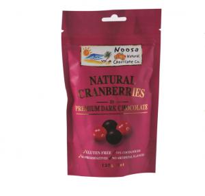 Noosa Natural Cranberries Dark Chocolate 125g