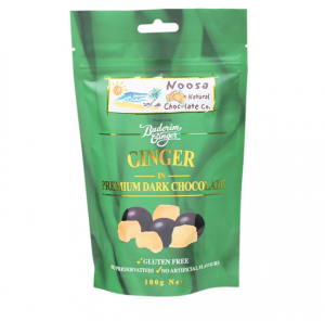 Noosa Natural Ginger in Dark Chocolate 100g
