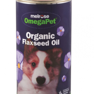 Melrose OmegaPet Organic Flaxseed Oil 500ml