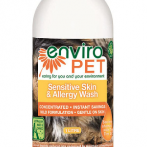 Enviropet Pet Sensitive Skin and Allergy Wash 1L