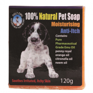 Only Emu Natural Pet Soap (Moisturising Anti Itch) 120g