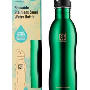 H2Onya Stainless Steel Bottle 1000ml Green