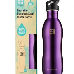 H2Onya Stainless Steel Bottle 1000ml Purple