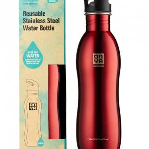 H2Onya Stainless Steel Bottle 1000ml Red