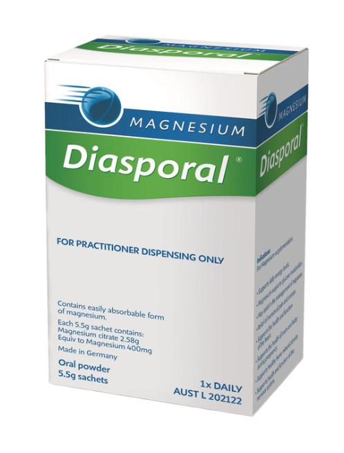 Biopractica Magnesium Diasporal 5 5g Sachets X 20 Pack